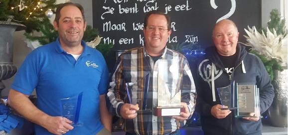 Top 3 zaterdagcompetitie 2018